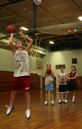 Gloucester: Gloucester senior Hannah Cain, who missed most of last season with an ACL injury, is looking to lead the team back into the playoffs. Photo by Kate Glass/Gloucester Daily Times