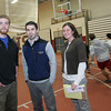 Gloucester: Track coaches David Brook, Jeff Destino and Liz Moran are filling the shoes of longtime coaches Jim Munn and J.D. MacEachern. Mary Muckenhoupt/Gloucester Daily Times