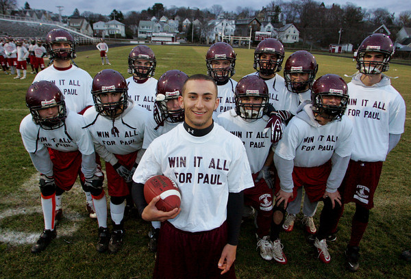 Gloucester: Joey Avila has emerged as one of the teams vocal leaders even though he is not a team captain. Mary Muckenhoupt/Gloucester Daily Times