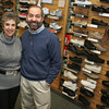 Gloucester: For BIZ page. Mark Adrian Farber and his wife Amy. Mary Muckenhoupt/Gloucester Daily Times