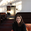 ALLEGRA BOVERMAN/Staff photo. Gloucester Daily Times. Rockport: Rev. Susan Moran of the Unitarian Universalist Society of Rockport.
