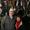 ALLEGRA BOVERMAN/Staff photo. Gloucester Daily Times. Gloucester: Carol Styczko of Gloucester won the Winner Takes All $1,100 downtown shopping spree. She is with her husband John Styczko.