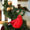 ALLEGRA BOVERMAN/Staff photo. Gloucester Daily Times. Rockport: Detail of the decorations at The Captain's House Inn in preparation or the Seashells and Jingle Bells Inn and Home Kitchen Tour of Rockport which will be held on December 10th from 1- 6 p.m.