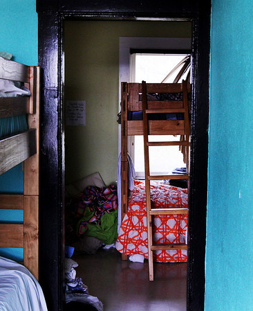 Action's shelter on Rogers Street is a labyrinth of rooms with beds that fill up quickly each night. Jesse Poole/Gloucester Daily Times Dec. 05, 2011