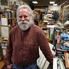 ALLEGRA BOVERMAN/Staff photo. Gloucester Daily Times. Gloucester: Bob Ritchie, longtime owner of Dogtown Books on Main Street in Gloucester.