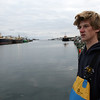ALLEGRA BOVERMAN/Staff photo. Gloucester Daily Times. Gloucester: Peter Kammerer, 18, young lobsterman.