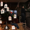 "Allegra Boverman/Gloucester Daily Times. Sarah Kelly, an interior designer from Rockport, decorates an inn in Rockport that will be participating in the second Sea Shells and Jingle Bells benefit featuring a holiday inn and house tour takes place on Saturday, Dec. 8 from 1 p.m. to 5 p.m. featuring 12 homes and inns. Each site will feature a sampling of food or drink.  Proceeds support the Rockport High School DECA program and marketing classes. Tickets are available at: Rockport Inn and Suites at 183 Main St. and Toad Hall Bookstore, both in Rockport, or online at <a href=""http://seashellsandjinglebellsrkpt.blogspot.com/"">http://seashellsandjinglebellsrkpt.blogspot.com/</a>."