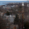 Allegra Boverman/Gloucester Daily Times. The view of Rockport from the top of Summit Avenue on Friday.