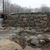 Jim Vaiknoras/Gloucester Times: Work continues on the Millbrook View Dam<br /> in Rockport.
