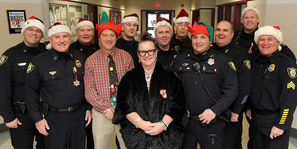 Allegra Boverman/Gloucester Daily Times. The Rockport Police Department served lunch to Rockport Elementary School students on Thursday, the second year they have done so. Leftovers from the lunch, which included turkey, stuffing, mashed potatoes, gravy, cranberry sauce, string beans and rolls, were brought to the Action homeless shelter in Gloucester immediately following.