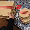 "Allegra Boverman/Gloucester Daily Times.  Details of gift box displays being made by Rockport interior decorator Sarah Kelly at a Rockport seaside inn that will be taking part in the second Sea Shells and Jingle Bells benefit featuring a holiday inn and house tour takes place on Saturday, Dec. 8 from 1 p.m. to 5 p.m. featuring 12 homes and inns. Each site will feature a sampling of food or drink.  Proceeds support the Rockport High School DECA program and marketing classes. Tickets are available at: Rockport Inn and Suites at 183 Main St. and Toad Hall Bookstore, both in Rockport, or online at <a href=""http://seashellsandjinglebellsrkpt.blogspot.com/"">http://seashellsandjinglebellsrkpt.blogspot.com/</a>."