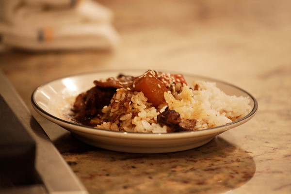 MPN/Courtesy photo<br /> Korean American Roy Choi says this short rib stew tastes of home to him, with its fruit and spices.