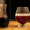 MPN/Courtesy photo<br /> Aronia juice,left, adds more than color to a light beer, it also adds antioxidants for a healthy cocktail, right.