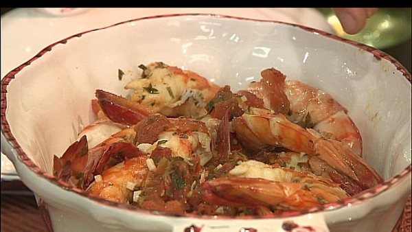 MPN/Courtesy photo<br /> Gamberoni all'Amalfitana, or Shrimp Amalfi-style, is a simple but elegant dish to serve for a winter dinner or as part of the Feast of the Seven FIshes.