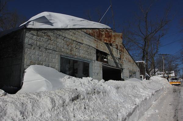 Roof Collapses in Annisquam