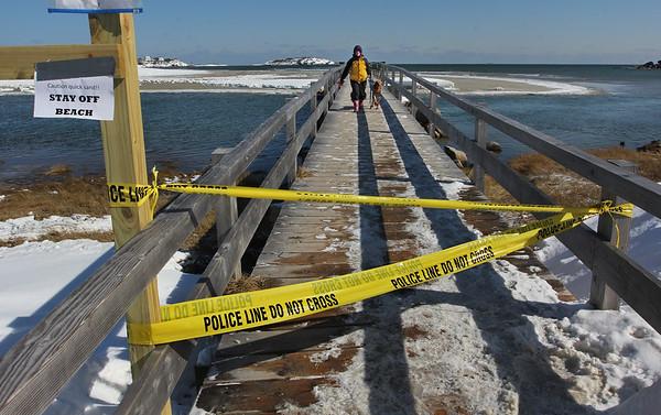 Good Harbor Beach Closed