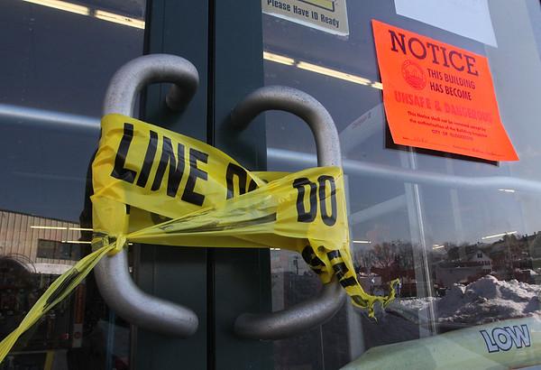 Retail Building Unsafe