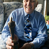 "Gloucester: Phil Perry, who began Rockport High School's theater program in the 60s and taught there for over 30 years, holds an oscar award he used to give to his students during their drama competition. Rockport native Andrew Stanton, who won an Oscar on Sunday for best animated feature film for ""WALL-E,"" cited Perry in his acceptance speech, saying, ""I guess I'd be remiss if I did not thank my high school drama teacher Phil Perry for 28 years ago casting me as Barnaby in Hello, Dolly!."" Photo by Kate Glass/Gloucester Daily Times Monday, February 23, 2009"