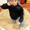 Gloucester: Gus Margiotta is headed to the state track meet in Boston today to compete in the shotput. Margiotta is seeded third with a throw of 54' 7 3/4""