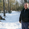 Gloucester: Jim Coleman of Gloucester recently placed nearly 20 acres of land under a conservation restriction through the Essex County Greenbelt. Photo by Kate Glass/Gloucester Daily Times Tuesday, February 17, 2009