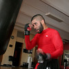 Gloucester: Christian Rivera, a mixed martial arts fighter, trains at the Cape Ann YMCA Thursday afternoon.  Rivera will be fighting in New Hampshire this weekend as part of the Global Fighting League.  Mary Muckenhoupt/Gloucester Daily Times