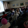 "Rockport: Dozens of people gathered at the Rockport Public Library yesterday afternoon to watch Bucket List as part of their ""Cabin Fever"" movie series. The next movie, the Dark Night, will be shown Saturday at 2 p.m. The movie and popcorn are free. Photo by Kate Glass/Gloucester Daily Times Tuesday, February 17, 2009"