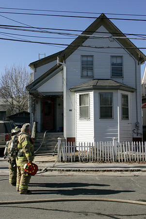Gloucester: The Gloucester Fire Department responded to 154 Maplewood Avenie for a small house fire Tuesday morning. Mary Muckenhoupt/Gloucester Daily Times