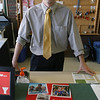 Gloucester: Scott Hitchcock, the new Executive Director of the Cape Ann YMCA, had his first day on the job yesterday. Hitchcock said he has been getting to know all the staff members and is looking forward to meeting the community to find out how the YMCA can improve to meet their needs. Photo by Kate Glass/Gloucester Daily Times