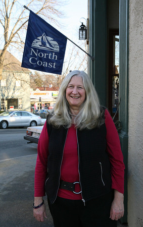 Manchester: Karen Roller, owner of North Coast in Manchester, will be retiring and closing the store after 22 years. Photo by Kate Glass/Gloucester Daily Times