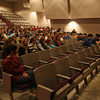 Rockport: Congressman John Tierney answers questions of Rockport High School juniors and seniors yesterday morning. Photo by Kate Glass/Gloucester Daily Times