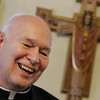 Gloucester: The Rev. Ronald J. Gariboldi is the current pastor at St. Ann Church and is celebrating his 50th year this week.  Mary Muckenhoupt/Gloucester Daily Times