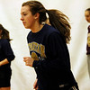 ALLEGRA BOVERMAN/Staff photo.Gloucester Daily Times. Gloucester: Gloucester's Sophie Black, center, in action during the girls varsity basketball team practice on Monday.