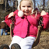 ROCKPORT—Cecilia Chadbourne, 2, of Rockport, swings at Millbrook Meadow on Monday morning. Jesse Poole/Gloucester Daily Times Feb. 20, 2012