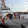 ALLEGRA BOVERMAN/Staff photo. Gloucester Daily Times. Gloucester:The Coast Guard Cutter Grand Isle returned to Gloucester on Friday afternoon after seven months of repairs and 10 days at sea.