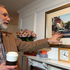 ALLEGRA BOVERMAN/Staff photo. Gloucester Daily Times. Rockport: Artist William Grillo at home in Rockport.