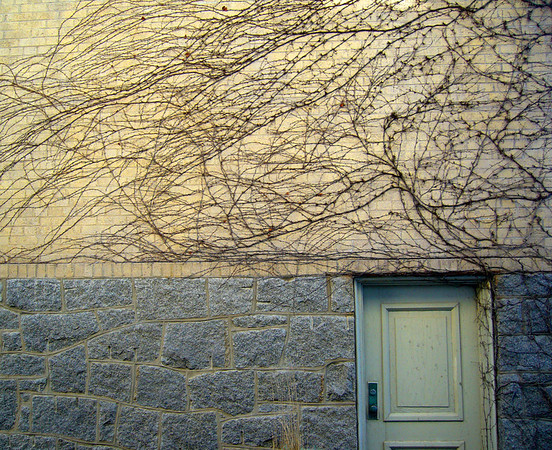 ALLEGRA BOVERMAN/Staff photo. Gloucester Daily Times. Rockport: Textures along an alley near the waterfront in Rockport's downtown.