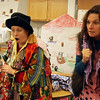 "ALLEGRA BOVERMAN/Staff photo. Gloucester Daily Times. Gloucester: Lara Lepionka, center, and Emily Sinagra, right, act out ""Stone Soup,"" based on the children's book by Marcia Brown, with Plum Cove Elementary School first grader Ryan LaFlam, with his class on Friday afternoon. The Stone Soup Arts & Literacy Enrichment Program is funded districtwide by the Gloucester Education Foundation and each elementary school's PTO, and it has been presented at each elementary school in the last couple of weeks. Stone Soup was also an actual cafeteria option for kids to eat at the elementary schools when the program was at each school."