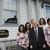 ALLEGRA BOVERMAN/Staff photo.Gloucester Daily Times. Gloucester: Cape Ann Insurance team: Front row, from left are: Isabel Cottone, Bill Carlson and Jeanne Cairns. Back row, from left are: Diane Parisi, Holly Mayer, and behind them, center top, Charles Nahatis.