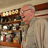 ALLEGRA BOVERMAN/Staff photo. Gloucester Daily Times. Roger Wonson in his recording studio at his home in Beverly.