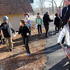 ALLEGRA BOVERMAN/Staff photo. Gloucester Daily Times. Gloucester: Second and third graders at The Gloucester Community Arts Charter School are starting to tidy up around the school in preparation for their open house on Saturday from 10 a.m. - noon.