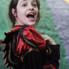 """Allegra Boverman/Gloucester Daily Times. East Gloucester Elementary School fifth grader Juliana Freed is an evil witch in """"Doo-Wop Wed Widing Hood,"""" a comic musical the entire fifth grade and their teachers are to perform Thursday and Friday at 7 p.m. and Saturday at 3 p.m. at the Davis Street Extension school. Tickets are $5 per person."""