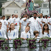 Gloucester: The procession heads up Prospect Street during St. Peter's Fiesta Sunday. Mary Muckenhoupt/Gloucester Daily Times