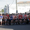 Gloucester: Runners start the Fiesta 5K Road Race on Commercial Street yesterday evening. Photo by Kate Glass/Gloucester Daily Times Thursday, June 25, 2009