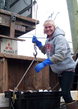 Tina Jackson, co-founder of the American Alliance of Fishermen and their Communities. Courtesy Photo