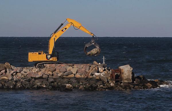 Breakwater Repair