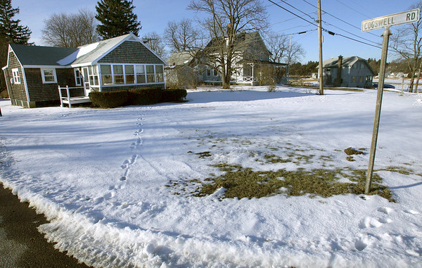 Essex: There will be a meeting on Thursday to discuss the future of Conomo Point. Essex's lease of land south of Robbins Island Road is up in 2011. Photo by Kate Glass/Gloucester Daily Times Tuesday, January 6, 2008