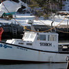 Rockport: Kevin Beaton ties up his boat, the Lady Lynne, at the town landing by Granite Pier Wednesday afternoon. Photo by Kate Glass/Gloucester Daily Times