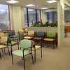 Gloucester: The waiting area of Cape Ann Medical Center's new location at One Blackburn Drive is much larger and has two separate areas for different doctors. Photo by Kate Glass/Gloucester Daily Times