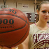 Gloucester: Senior captain Olivia Lufkin has been a key player in the Gloucester girls basketball program for four years. Photo by Kate Glass/Gloucester Daily Times
