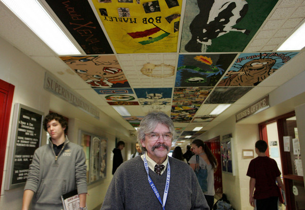 Rockpoprt: Charles Symonds has announced that he is retiring as principal of Rockport High School and the search is on as to who will replace him. Mary Muckenhoupt/Gloucester Daily Times